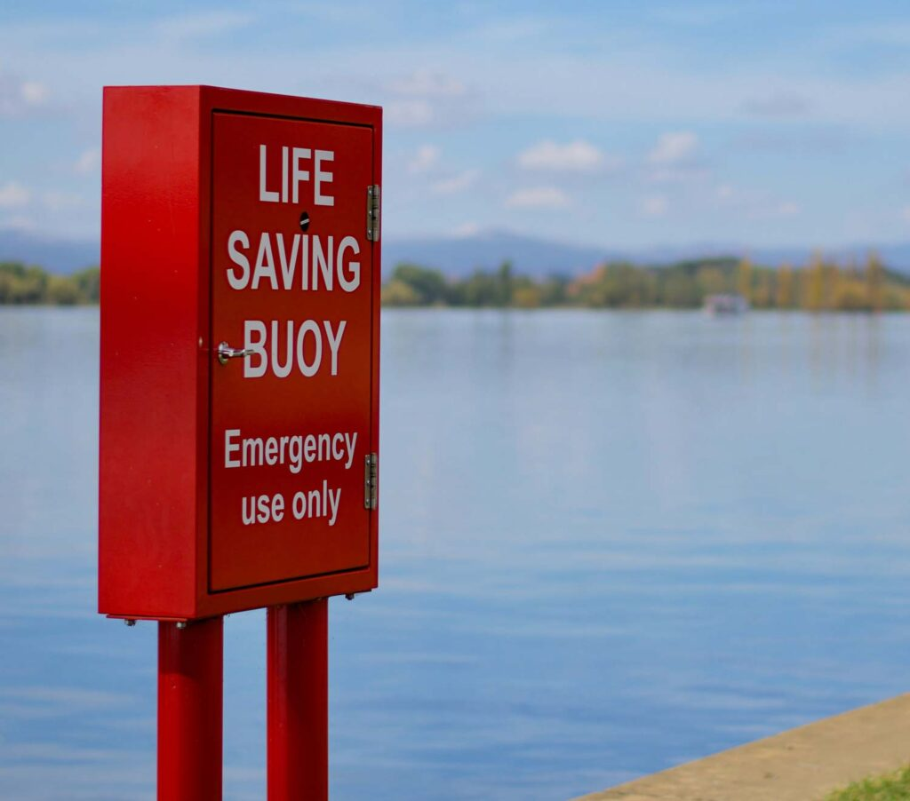 CKM Solutions Group Life saving buoy